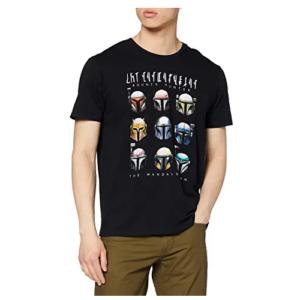 Camiseta-hombre-Cascos-The-Mandalorian