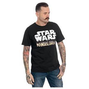 Camiseta-hombre-logo-Mandaloriano-The-Mandalorian