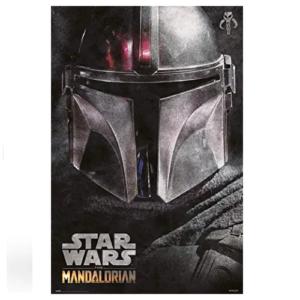 Poster-Casco-Mandalorian-The-Mandalorian-Star-Wars-Disney