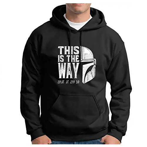 Sudadera-This-is-the-way-The-Mandalorian-Star-Wars-Disney